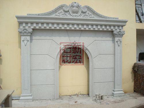 现代欧式公墓楼建筑
