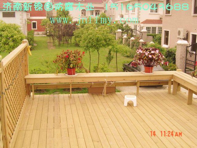 山东济南防腐木地板