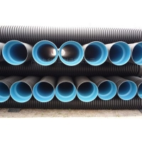 双壁波纹管,钢带双壁波纹管,九和管业