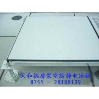 弱电机房地板网络防静电地板架空地板抗静电地板全钢活动地板