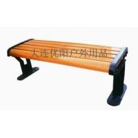 大连厂家直销公园长条凳、园林长椅、园林小品、防腐木椅子