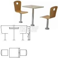 快餐桌椅,中山快餐桌椅批發,學校食堂餐桌椅,員工餐桌椅系列