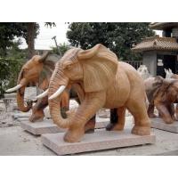 中銘石業漢白玉大象