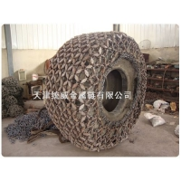 装载机30型加强加厚轮胎保护链