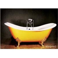 豪华型独立式铸铁浴缸 古典浴缸