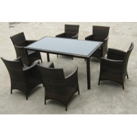 藤编桌椅 咖啡厅桌椅 餐厅桌椅