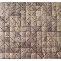 天然装饰材料椰壳板马赛克