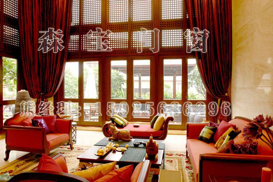 嘉兴实木门窗、铝木门窗、木铝门窗、阳光房