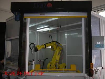 北京快速卷门PVC工业门车库门高速卷帘门
