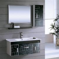 不锈钢浴室柜8017-箭山洁具-箭山卫浴