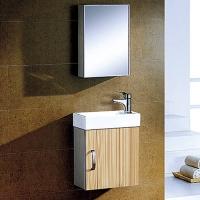 不锈钢浴室柜8027D-箭山洁具-箭山卫浴