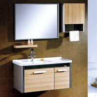 不锈钢浴室柜8034-箭山洁具-箭山卫浴