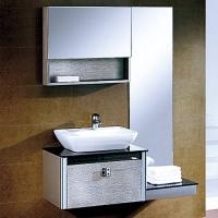 不锈钢浴室柜8039-箭山洁具-箭山卫浴