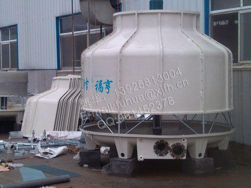 冷却塔的作用是将挟带废热的冷却水在塔内与空气进行