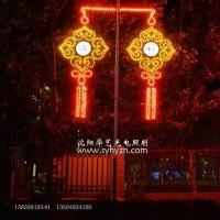 LED灯笼 中国结 吸塑灯杆造型