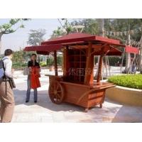 户外木制售货车、木制外卖车,户外木制花车