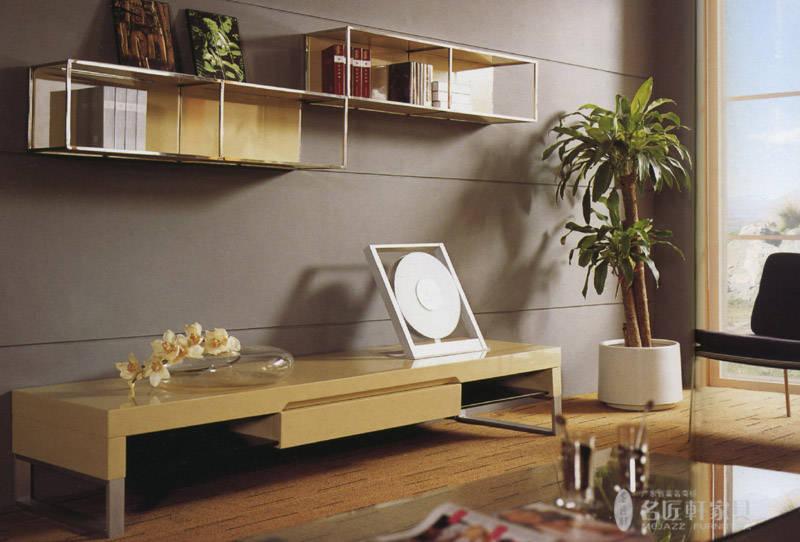 名匠轩-客厅系列--吊柜 电视柜