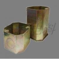 3C认证钢制接线盒,暗装式接线盒