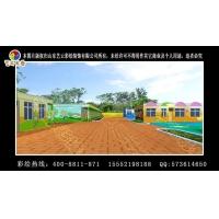 承接常德市武陵区幼儿园室内墙体彩绘 幼儿园室外墙体彩绘