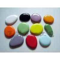 彩瓷自由石,仿玉自由石,彩色卵石