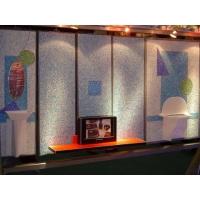 琉璃石电视背景墙 前台背景墙 壁画 艺术墙
