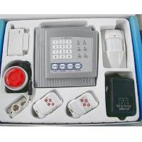 供应4防区电话联网防盗报警器 家用防盗器