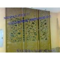 金属屏风 铜板镂空 铜板水切割