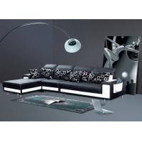 现代休闲简约转角真皮沙发厂家直销真皮沙发客厅家具D803