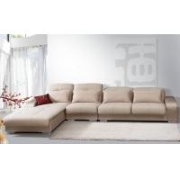 休闲全布艺沙发/时尚客厅家具/现代转角沙发D905B