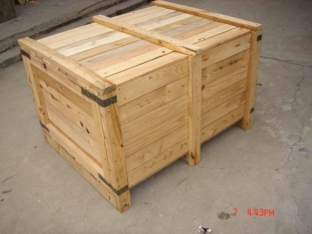 松江厂家供应木制包装箱