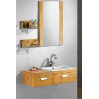 凡臣卫浴 浴室组合实木柜