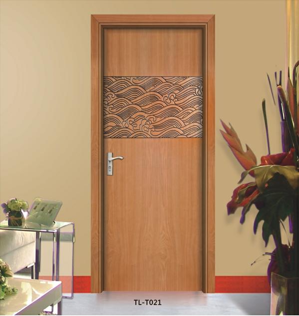 成都实木门、实木贴木皮油漆套装门