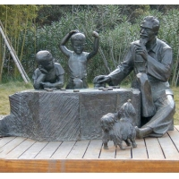 南京玻璃钢雕塑-南京天将雕塑-园林小品