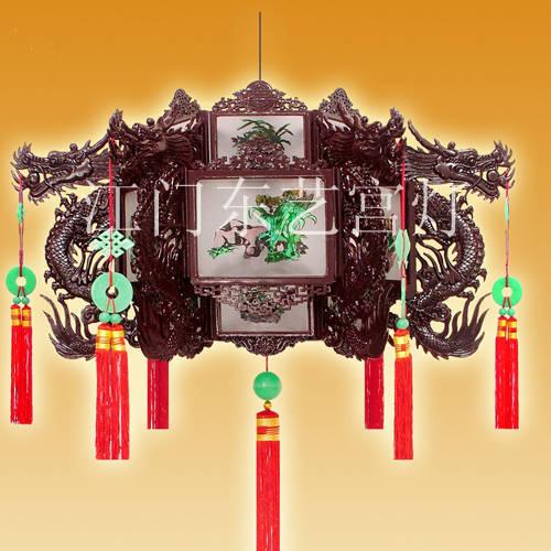 中式宫灯矢量图