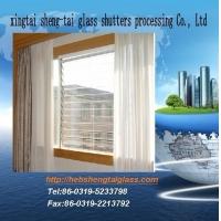 供应布纹百叶窗玻璃,压花玻璃,浮法玻璃价格,百叶窗图片