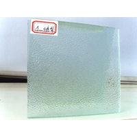特供河北香百叶窗玻璃 香梨压花压延玻及格法玻璃
