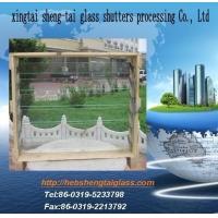生产布纹百叶窗玻璃 通风百叶窗 百叶窗配件 门窗玻璃