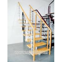 南京钢木楼梯-南京孝信楼梯-1