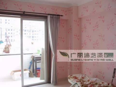 广丽墙艺漆客厅实景