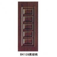 南京室内门-邦坤室内门-BK128黑胡桃