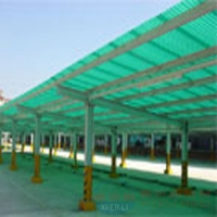 鹽城|淮安|連云港|陽光板耐力板車棚雨棚