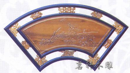 扇形雕窗产品图片,扇形雕窗产品相册