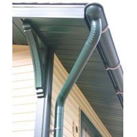 铝合金天沟檐沟排水系统铝合金檐槽落水系统