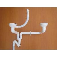 广牌PVC-U防漏型洗菜盆下水器