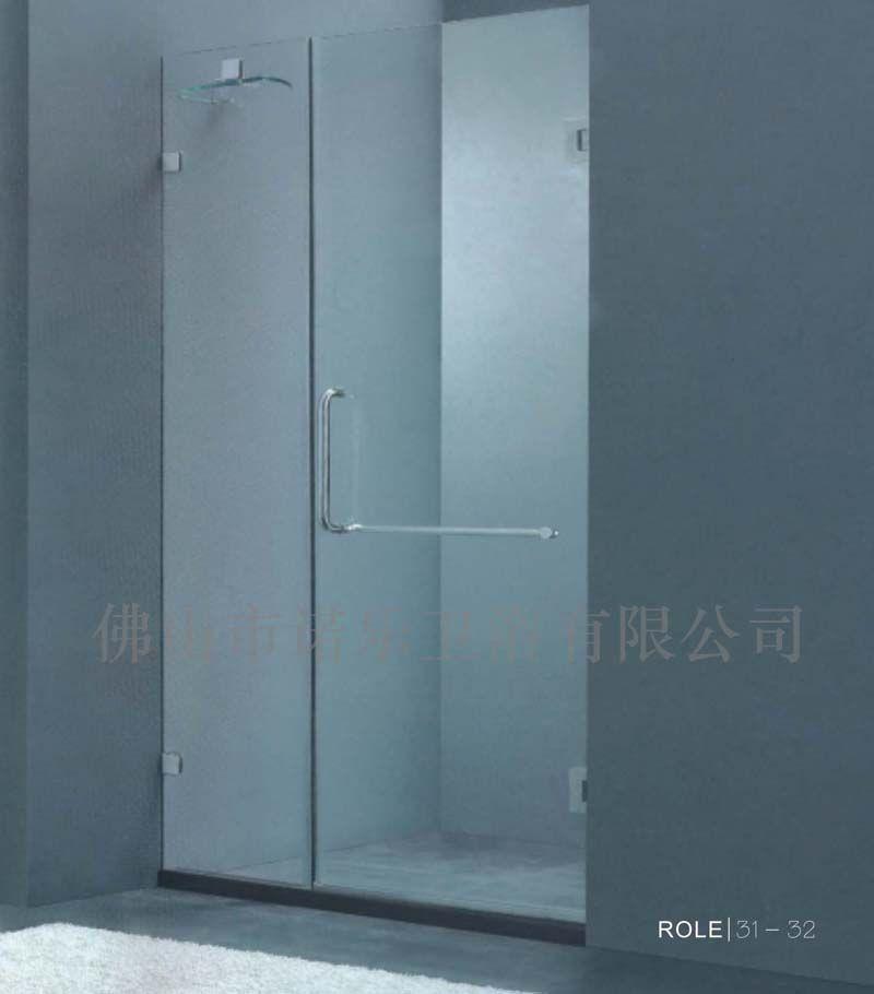 干湿隔断玻璃卫生间门,洗手间沐浴玻璃隔断门