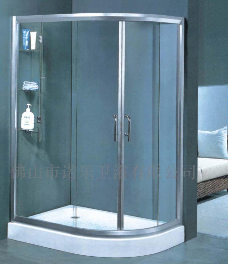淋浴房隔断门-淋浴挡水屏风-沐浴挡水屏风的厂家、价格、型号高清图片