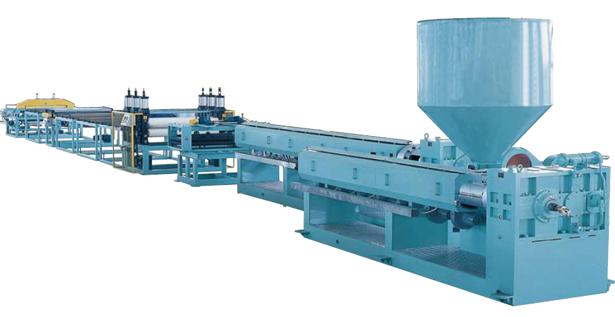 XPS挤塑保温板生产线 片板材塑料挤出机械 上海金纬机械制造有限公