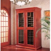 供应美晶实木压缩机恒温酒柜、厨房家用恒温酒柜、红酒储存冰柜.