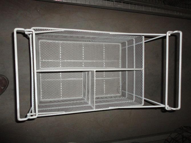 厂家供应展示柜搁架、超市网筐、超市铁线篮筐、食品筐