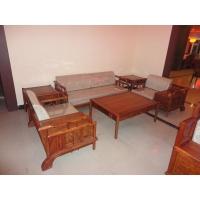 厂家直销东阳木雕红木家具非洲黄花梨江南之诗沙发